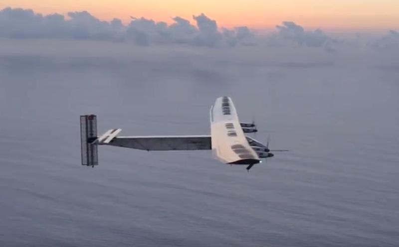 Photo of Solar Impulse 2 hedefine doğru ilerliyor
